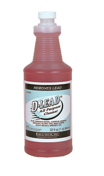 Esca Tech D-Lead All Purpose Cleaner (32oz Bottles Case of 12)