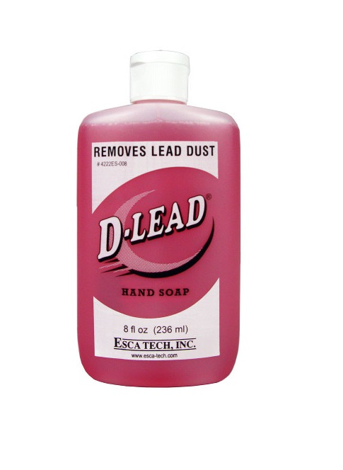 Esca Tech D-Lead Hand Soap (8oz Bottles Case of 24)