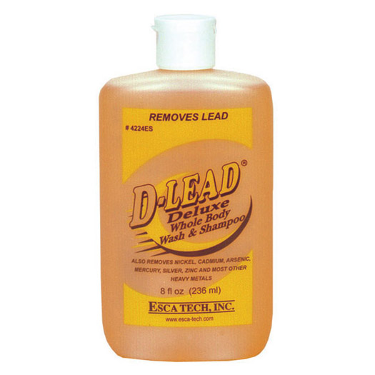 Esca Tech D-Lead Abrasive Hand Soap (8oz Bottles Case of 24)