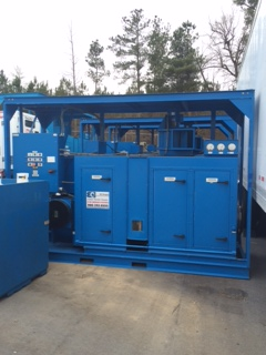 5500 CFM Stulz Propane Desiccant/ Skid Mounted/ Per Day