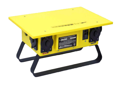 YELLOW TEMP POWER BOX (SPIDER)