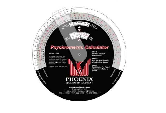 Phoenix Psychrometric Calculator
