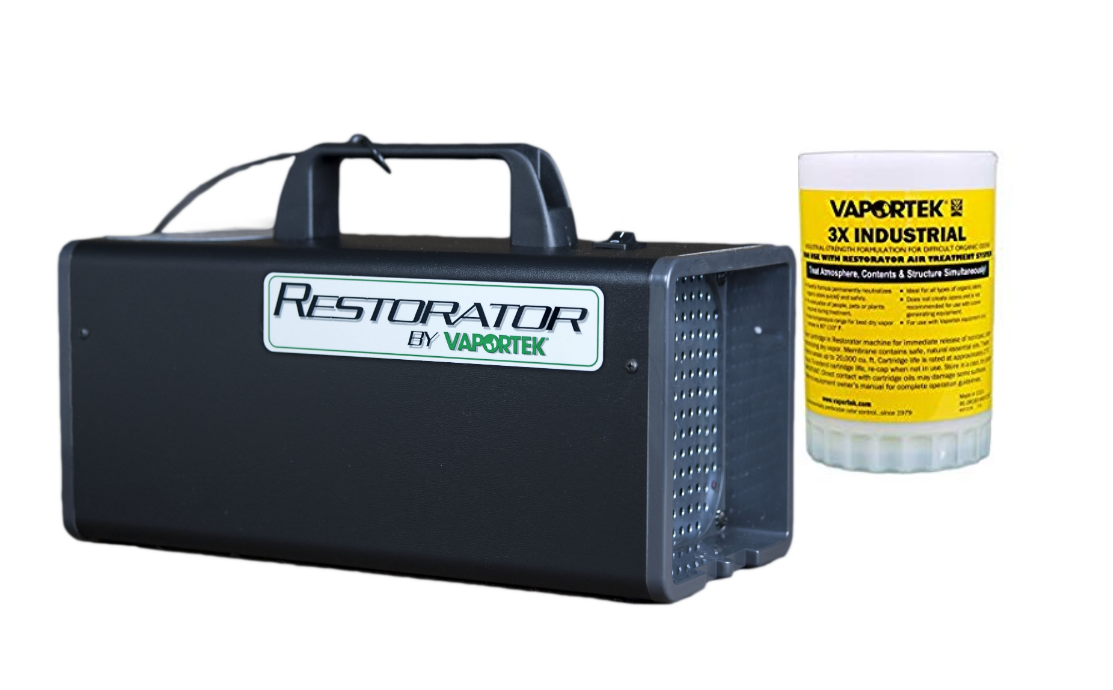 Vaportek Restorator 110V with 3x Industrial Cartridge