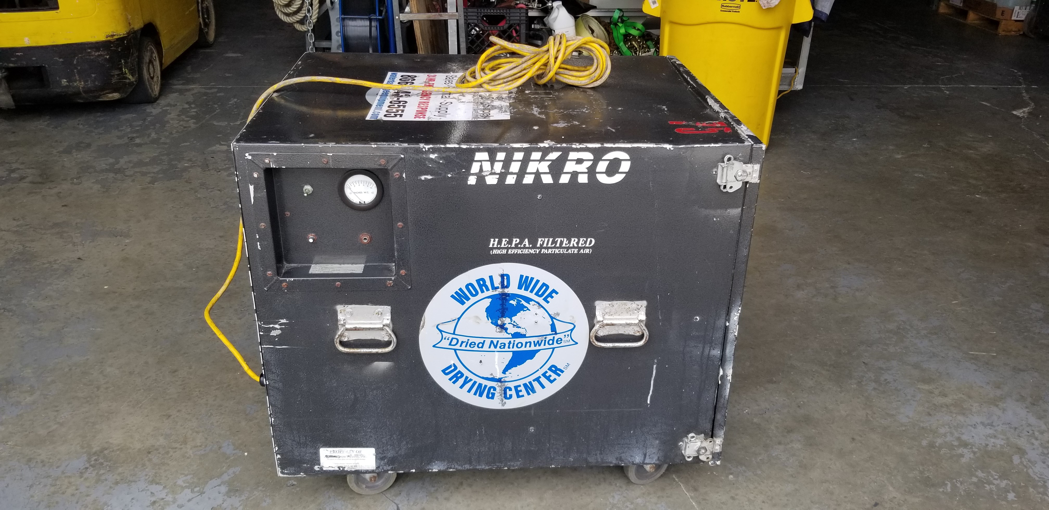 Nikro Air Srubber/ Used/ As is
