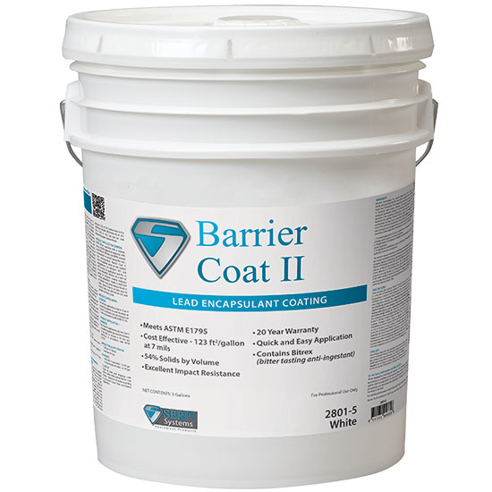 SERPI BARRIER COAT II-INDUSTRIAL LEAD ENCAPSULANT 5GAL