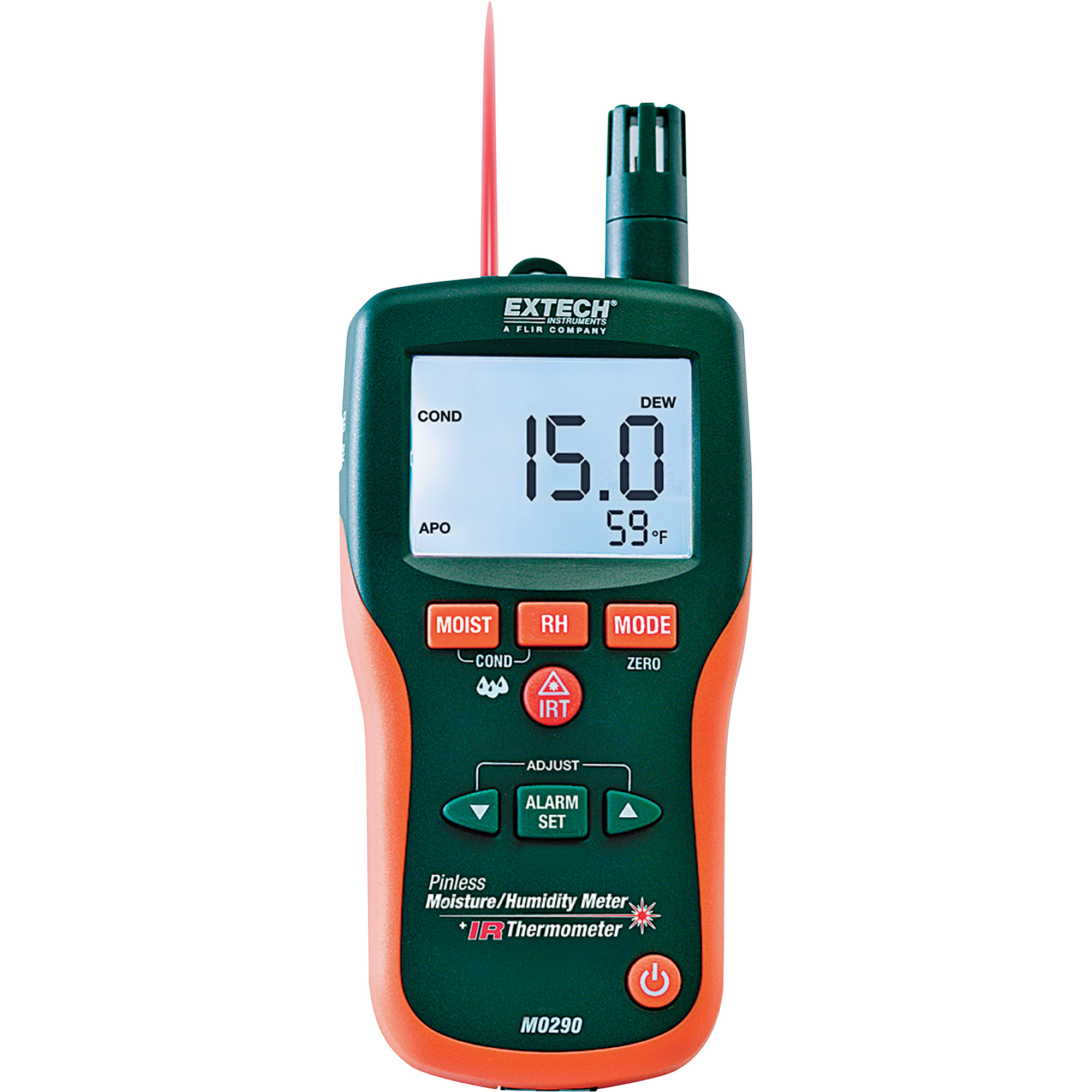 Extech MO290/ 8-in-1 Meter with IR Thermometer