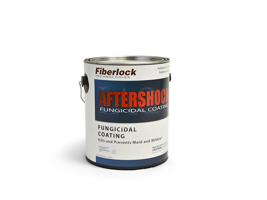 AFTERSHOCK/ EPA REGISTERED FUNGICIDAL COATING/ WHITE/ 4 GAL CASE