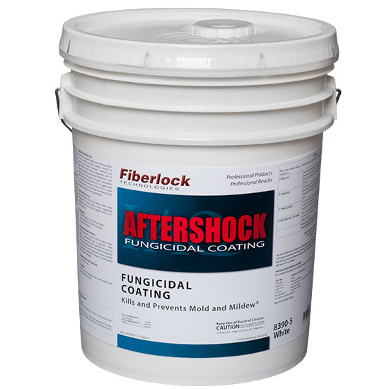 AFTERSHOCK EPA REGISTERED FUNGICIDAL COATING-WHITE 5GAL
