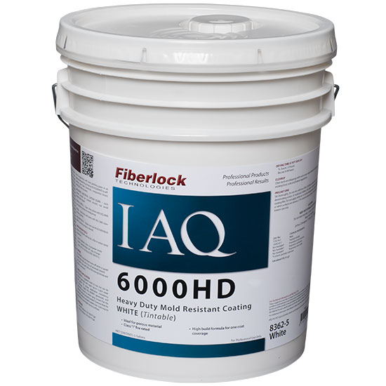 IAQ 6000HD-HEAVY DUT MOLD RESISTANT COATING 5GAL