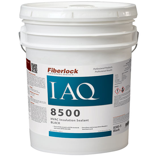 IAQ 8500 HVAC INSULATION SEALER BLACK 5 GAL