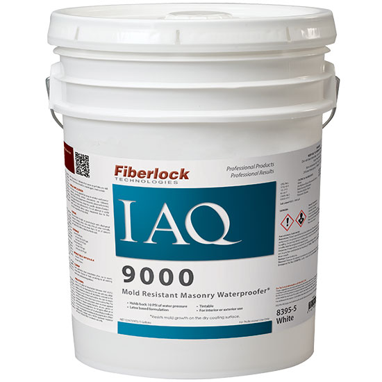 IAQ 9000 - MOLD RESISTANT WATERPROOFER WHITE X 5GAL
