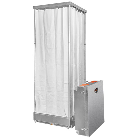 KLEAN POP-COLLAPSIBLE DECONTAMINATION SHOWER