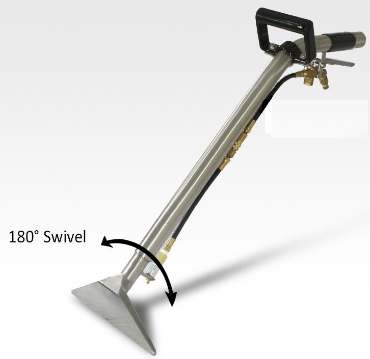 Long Handle Swivel Head Stair Tool
