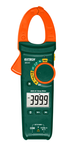 400A AC Clamp Meter + NCV