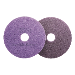 Scotch-Brite Purple Diamond Floor Pads