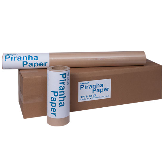 "PIRANHA PAPER-EVAPORATION PAPER 13""X300' ROLL (4/CASE)"