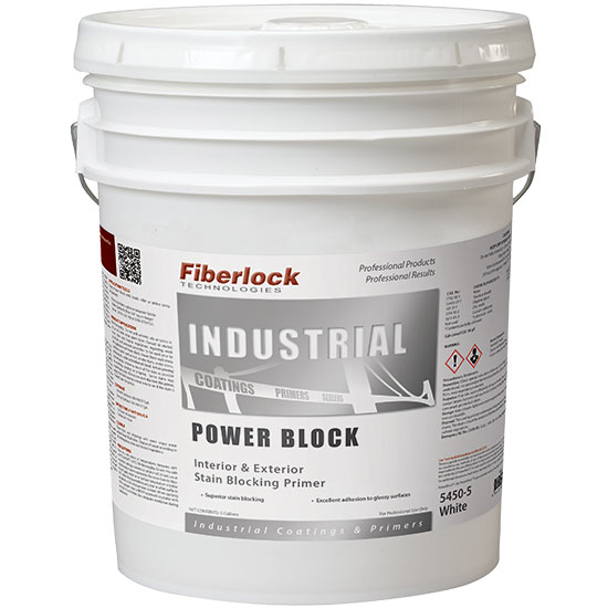 POWER BLOCK - INT/EXT STAIN BLOCKING PRIMER 5 GAL