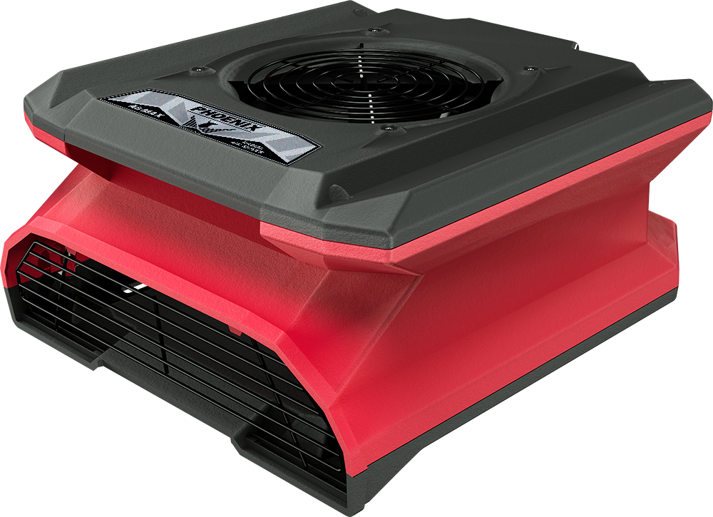 Phoenix AirMax Radial Air Mover (Blue and Red )