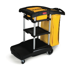 High-Capacity Cleaning Cart