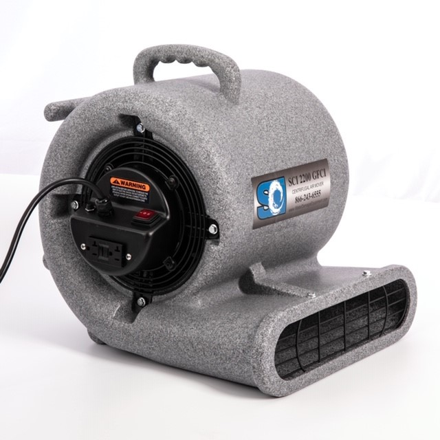 SCI 2200 GFCI Centrifugal Air Mover