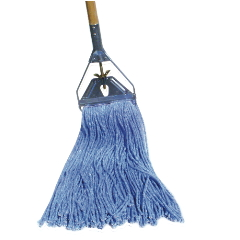 Cut-End Wet Mop Heads Blue / 12 per case