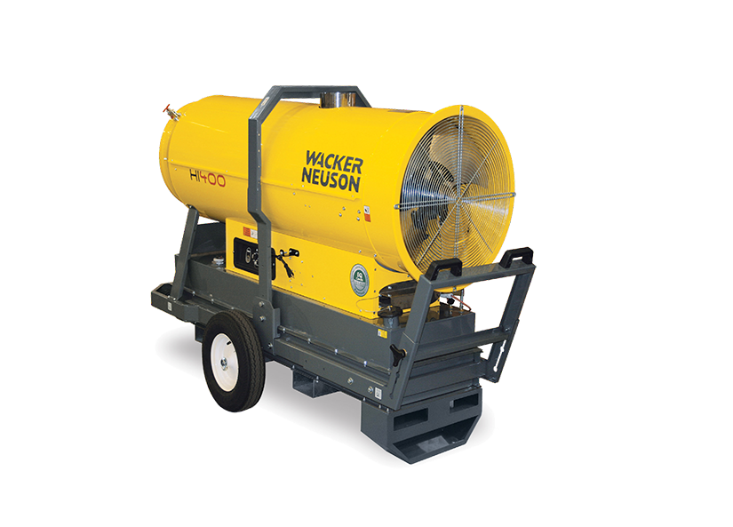 Wacker Neuson HI400HD Indirect Fired Air Heater Portable
