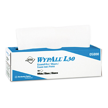 Wypall L30 Economy Wipers / 8 boxes per case