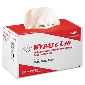 Wypall L40 Wipers / 9 boxes per case